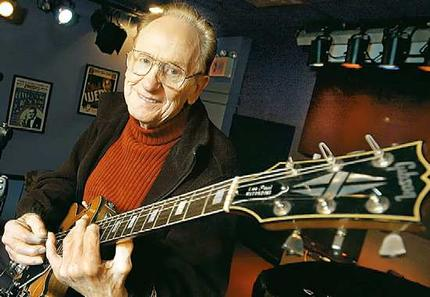Guitar legend Les Paul