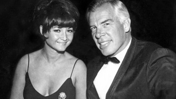 Michelle Triola Marvin and Lee Marvin