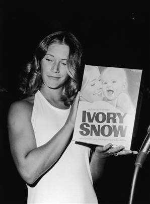 Marilyn Chambers - Adult film Star and Ivory Snow baby