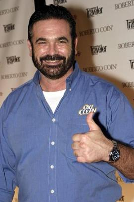 Oxiclean picthman Billy Mays